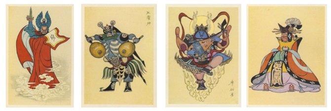 Diseño de personajes de Zhang Guangyu.