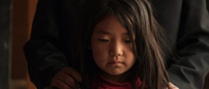 La pequeña Lhamo.