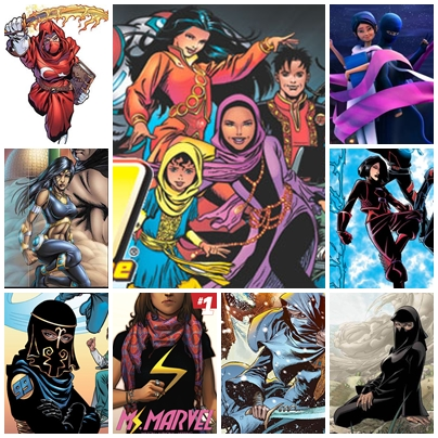 Cada vez son más numerosas y variadas las superheroínas de trasfondo musulmán.