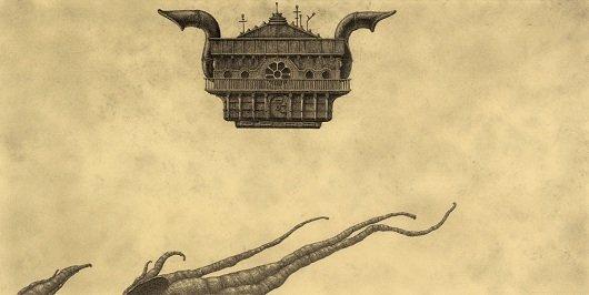 Representación del anacronópete por Óscar Sanmartín.