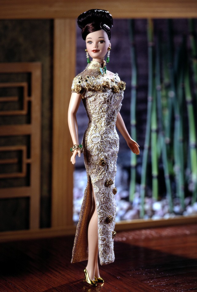 Barbie Golden Qipao (1998)