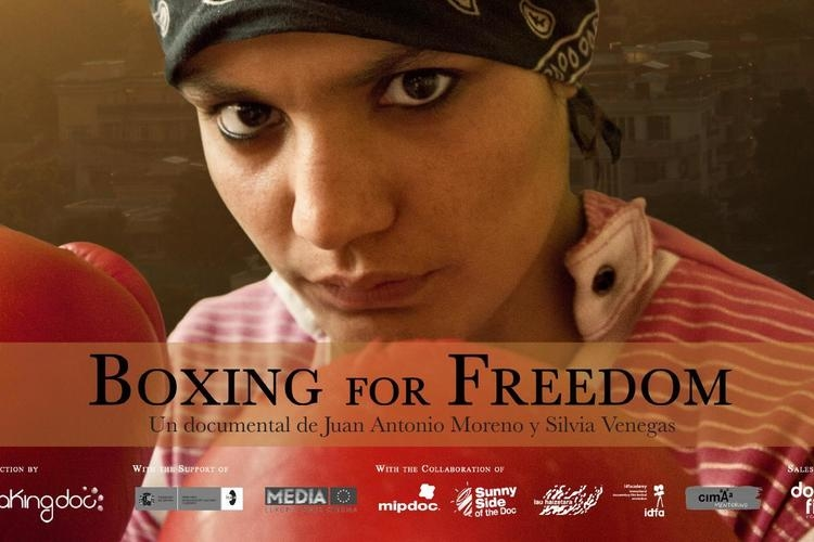 88. Boxing for Freedom (cartel)