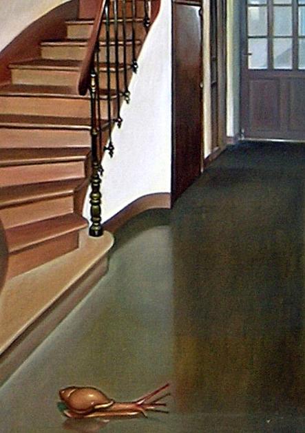 Detalle de La entrada (The entrance, 2004).